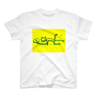 おめんねこ T-shirts