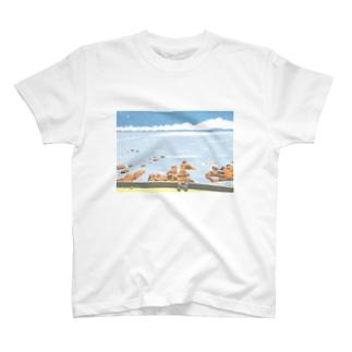 なにもない海 T-shirts
