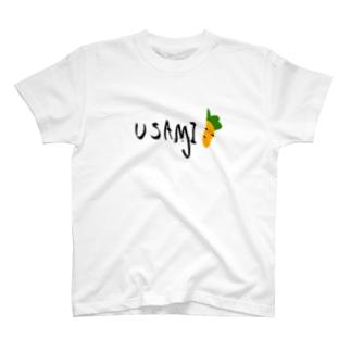 うさみのロゴ T-shirts