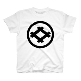 丸に井桁 T-shirts