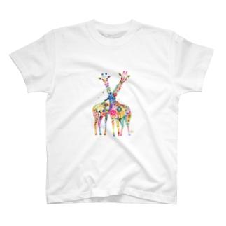 仲良しキリン T-shirts