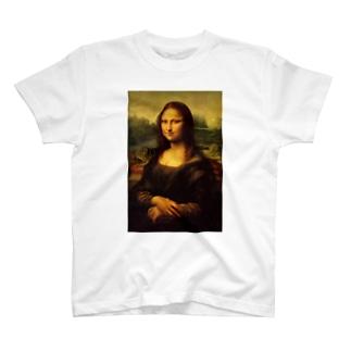 モナリザTシャツ T-shirts