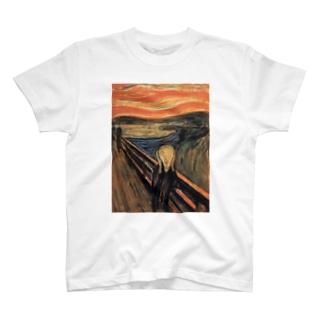 ムンクTシャツ T-shirts