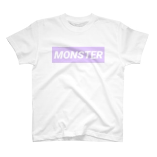 MONSTER ぱーぷる T-shirts