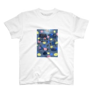 サタデー・こいぬ・フィーバー T-shirts