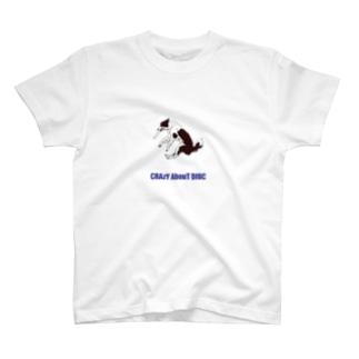 ドグスポCrazyシリーズ ボーダーコリー T-shirts