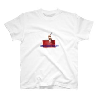 ドグスポCrazyシリーズ コイケルホンディエ アジリティー T-shirts