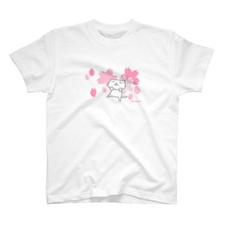 のびネコねこハウス2019春・桜コレクション T-shirts