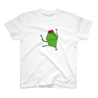 すーぱーかえるくん T-shirts