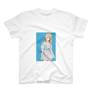 金髪ちゃん T-shirts
