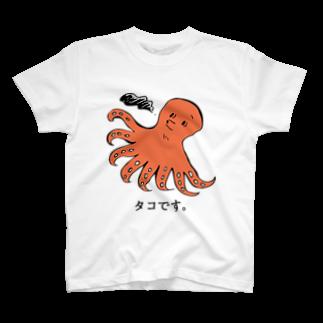 aaのタコです。 T-shirts