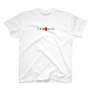 192CafeロゴTシャツ Red T-shirts