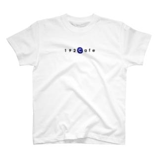 192CafeロゴTシャツ Blue T-shirts