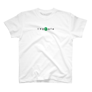192CafeロゴTシャツ Green T-shirts