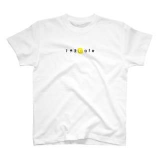 192CafeロゴTシャツ Yellow T-shirts