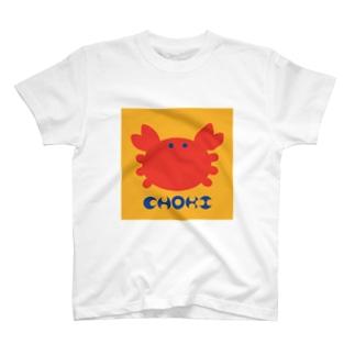 CHOKI T-shirts