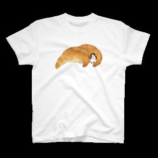 nins・にんずの塩パンT T-shirts
