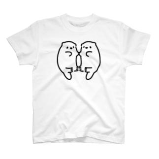らっこ?たち T-shirts