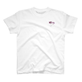 Ka-Ka'Aのムラサキのバラバラ T-shirts