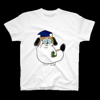 マツバラのもじゃまる博士 T-shirts