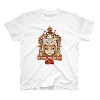 ヨシオカ サトシ× HOME HOSTEL OSAKA   新世界 T-shirts