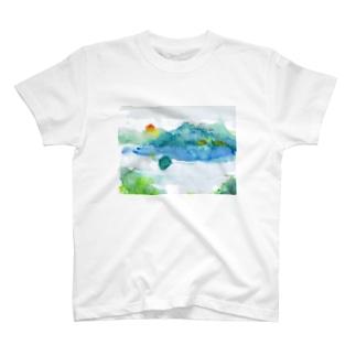 心の摩周湖 T-shirts