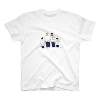 煮豆ファミリー T-shirts