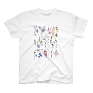 しょくぶつ T-shirts