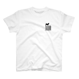 シバーコード T-shirts