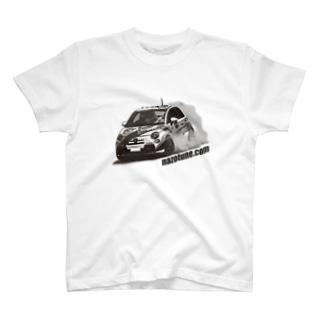 たたかうアバルトくん Tシャツ T-shirts