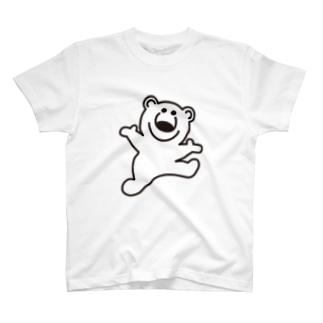 むじゃきのシロクマ Tシャツ