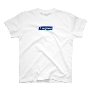 Surugawan_BoxLogo T-shirts