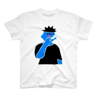 たばこを吸う輩 T-shirts
