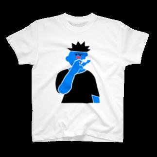 ロクヲ商店のたばこを吸う輩 T-shirts