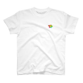 ぎこちないお花 T-shirts
