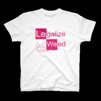 Legalize It ! のCK - CBD PINK T-shirts