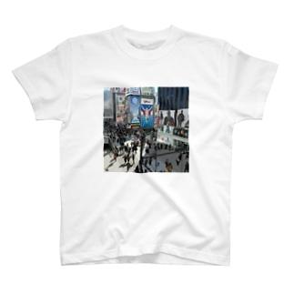 Pedestrian heaven T-shirts