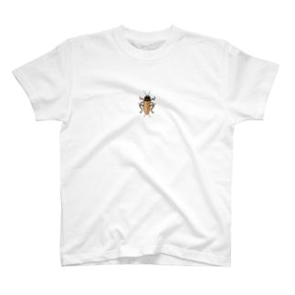 ヨーロッパ家コオロギのイラスト T-Shirt