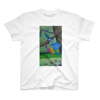 トロピック バーズ T-shirts