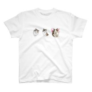 ナナちゃんとベビーナナちゃん2種類 Tシャツ