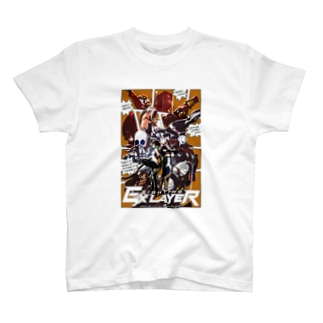 FIGHTING EX LAYER - Comic T-shirt T-shirts