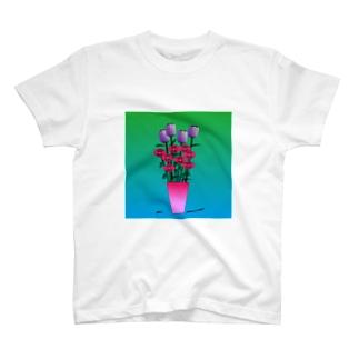 Flower arrangement T-shirts