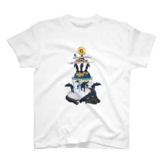 バクの世界 T-shirts