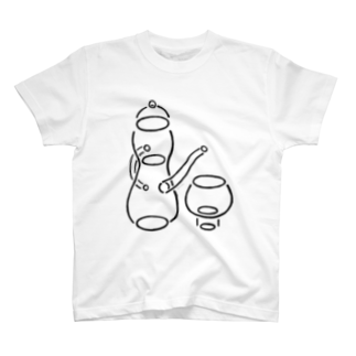 UMiSORAのIN&OUT_line series #02 T-shirts