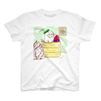 ちゅんカフェPK(ミント T-shirts