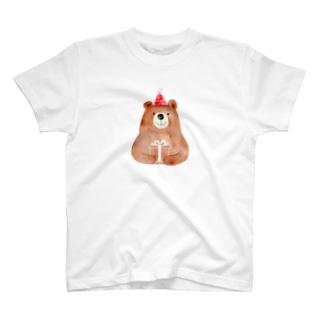 くまさんからの贈り物 T-shirts