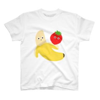 ばななといちご T-shirts