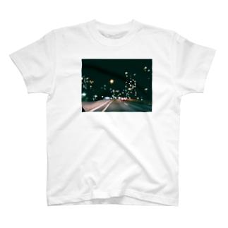 カネコ デストロイ マナミの夜の夜 T-shirts
