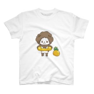 パイナップルコーデ T-shirts