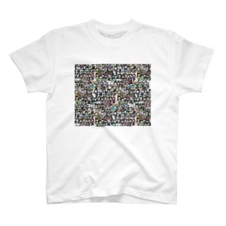 じぶんさがし!絵しりとり列車Ver. T-shirts